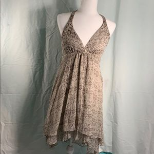 Anthropologie Ella Moss flirty dress size small